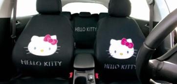 foto copri sedili hello kitty automobile