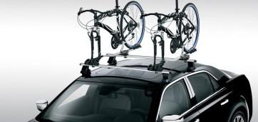 foto porta bici automobile