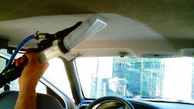 foto prodotti per pulizia auto ozono automobile