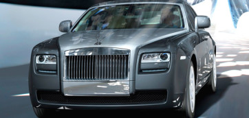 immagine automobile rolls-royce ghost