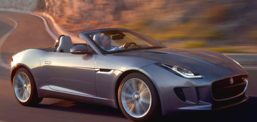 immagine automobile jaguar f-type-spider