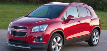 immagine automobile chevrolet trax