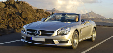 immagine automobile mercedes sl