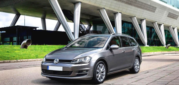 immagine automobile volkswagen golf-station