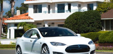 immagine automobile tesla model-s