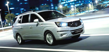 immagine automobile ssangyong rodius