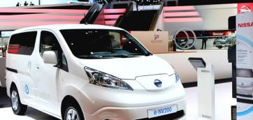 immagine automobile nissan e-nv200