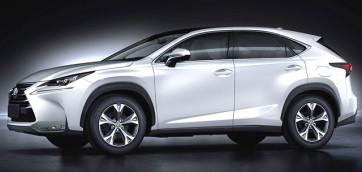 immagine automobile lexus nx