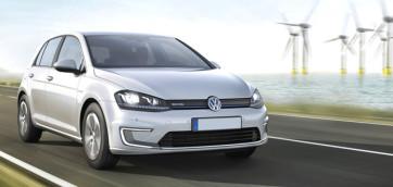 immagine automobile volkswagen e-golf