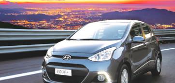 immagine automobile hyundai i10