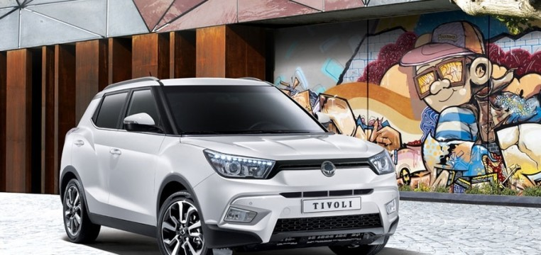 immagine automobile ssangyong tivoli